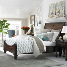 1000 Images About Bedrooms On Pinterest Master Bedrooms Headboard Shelves And Guest Rooms