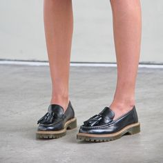 BRONX | chunky loafers with tassels