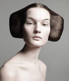 Kirsi Pyrhonen / Hair by Guido Palau / Photography by David Sims