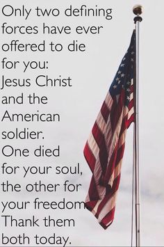 Only two defining sources have ever offered to die for you: Jesus Christ ➕ and the American Soldier 🇺🇸 Good Quotes, Best Quotes, Inspirational Quotes, Uplifting Quotes, Favorite Quotes, I Love America, God Bless America, Pray For America, D Day Normandy