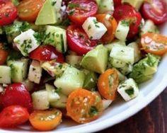 Combate a sensação de inchaço com esta deliciosa salada