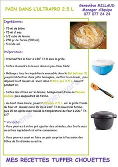 Tupperware Recipes, Desserts, Annie, Cookie, French Recipes, Food, Pastries, Pork, Healthy Recipes
