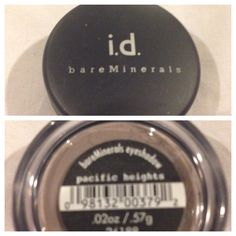 Bare minerals eyeshadow limited edition in pacific heights