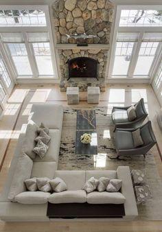 Living Room design ideas, inspiration & pictures #furnituredesignideas