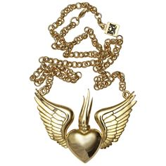 Winged Sacred Necklace