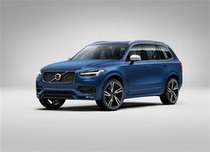 @volvocarsglobal releases first images of R-Design version of XC90 SUV
