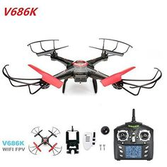 Xiangtat Jjrc V686k Wifi Fpv Headless Mode Rc Quadcopter Drone with Camera *** You can get additional details at the image link.Note:It is affiliate link to Amazon. #likes4followers
