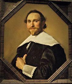 Frans Hals (c.1583-1666), Portrait d'homme  vers 1637, Huile sur toile, 67,5 x 57 cm, Staatsgalerie, Stuttgart