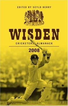 Book: Wisden Cricketers' Almanack 2008