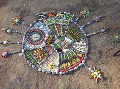 Decoramos nuestras Mandalas con motivos naturales. Mandalas 11-15 | Orientacion Andujar