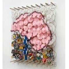 #Installation art @ Jacob Hashimoto #onlineartgallery - #contemporaryart - online art gallery - contemporary art source : http://imperiovida.tumblr.com/