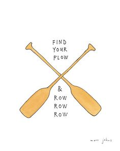 Marc Johns - find your flow - Signed Print