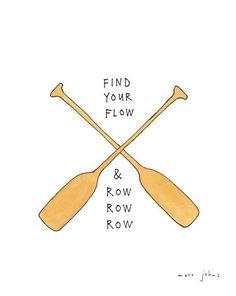 Marc Johns - find your flow - Signed Print