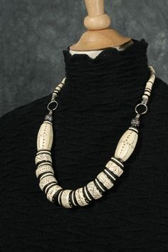 Contemporary Tribal: Faux Bone by DorothySiemens, via Flickr