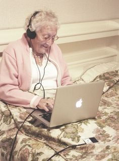 Forever young granny.