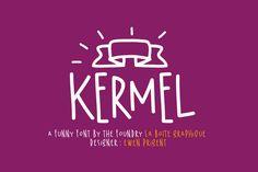 Kermel by La Boite Graphique on Creative Market