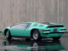 1968 Bizzarrini Manta concept  Maintenance/restoration of old/vintage vehicles: the material for new cogs/casters/gears/pads could be cast polyamide which I (Cast polyamide) can produce. My contact: tatjana.alic@windowslive.com