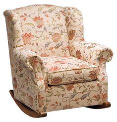 8 best upholstered rocker images on pinterest upholstered rocking
