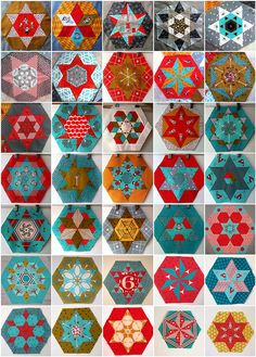Little Apples 35 Hexagons by Lorena in Sydney, via Flickr