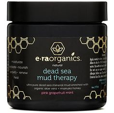 Dead Sea Mud Mask with Organic Aloe Vera, Shea Butter, Ma.  #oilyskin #mask #women #womensfashion #skin #skincare #usa #sale #deal #decor #skincareproducts #blackheads #fresh #peel #nose #whitehats #charcoal #mudmask #organic #dailycare #beauty #free #amazon