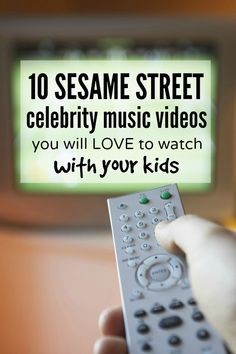 Whether you're having a bad day, or just cannot be bothered to get off the couch, this collection of celebrity Sesame Street videos is just what you and your kids need to get through the day!