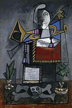 Picasso, Pablo (Pablo Ruiz Picasso): Monument aux espagnols morts pour la France (Monument to the Spaniards Who Died for France)