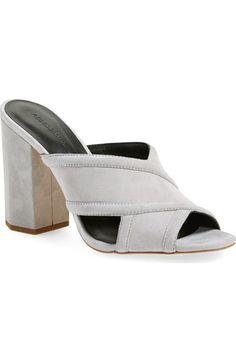 $194.95 - Rebecca Minkoff 'Ryann' Slide Sandal (Color: Vapor Suede)