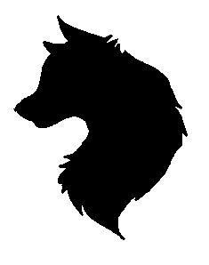 wolf silhouette | Wolf Silhouette by TengokuNoYuki on DeviantArt