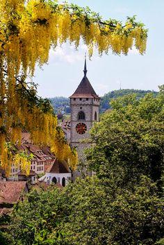 Blick auf St. Johann, Schaffhausen