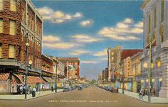 IL Danville Illinois North Vermilion Street Kropp CO NO 22371N | eBay