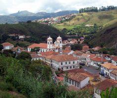 Ouro Preto , Minas Gerais, Brasil.
