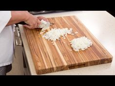 Why America's Test Kitchen Calls the Proteak Edge Grain Teak Cutting Board the Best Cutting Board - YouTube