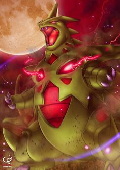 THE RAGING SANDSTORM - MEGA TYRANITAR by CHOBI-PHO.deviantart.com on @DeviantArt