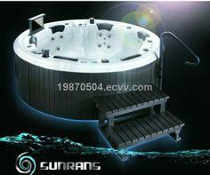 Portable Family Spa /Out door Massage bathtub (SR865) - China Massage bathtub, Sunrans