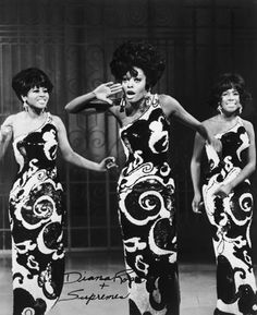 Diana Ross and The Supremes.