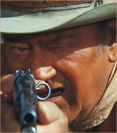 """John Wayne as Jacob McCandles from the Movie """"Big Jake"""" John Wayne Quotes, John Wayne Movies, Western Film, Western Movies, Classic Hollywood, Old Hollywood, The Lone Ranger, Actor John, Le Far West"""