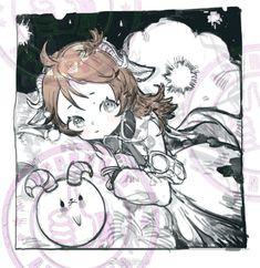 Animal Ears, Manga Girl, Neko, Knight, Anime Art, Character Design, Animals, Illustrations, Game