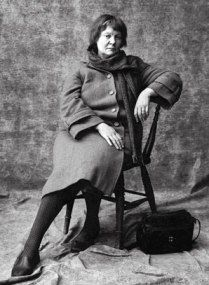 Iris Murdoch - O ye of the silver forked tongue and the gumption to prove men wrong - again and again and again ...