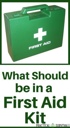 First Aid Kit List for your Emergency Kit. If you are prepping for a natural disaster or other emergency, make sure you have a well stocked first aid kit. Diy First Aid Kit, First Aid Tips, Camping First Aid Kit, Survival Blog, Survival Prepping, Survival Skills, Survival Mode, Survival Quotes, Emergency Supplies