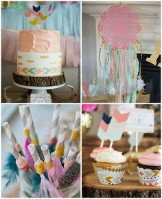 Tribal Princess Birthday Party via Kara's Party Ideas | KarasPartyIdeas.com (3)