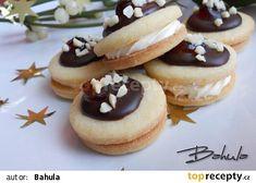 Mandlová srdíčka recept - TopRecepty.cz Biscuits, Sweet Tooth, Cheesecake, Food, Advent, Cookies, Crack Crackers, Cheesecakes, Essen