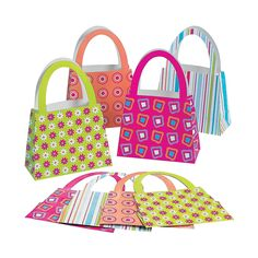 Purse Gift Bags - OrientalTrading.com