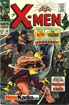X-men 38 Silver age Marvel comics