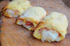 Cannoli di patate prosciutto e mozzarella sfiziosi vickyart arte in cucina
