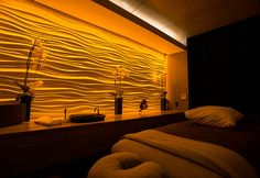 massage treatment room | what we do: interiors: samyama yoga center: massage therapy room