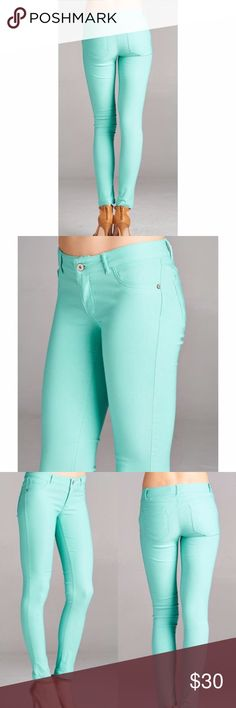 Here's One of The Hot Colors for Fall Sexy but sweet, these jeans are known for their great fit and great quality! Jeans Skinny