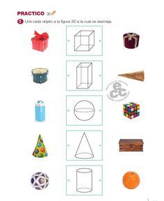 Free Kindergarten Worksheets, Preschool Learning, Kindergarten Math, Printable Shapes, Free Printable Worksheets, Math For Kids, Activities For Kids, Geometry Worksheets, Math School