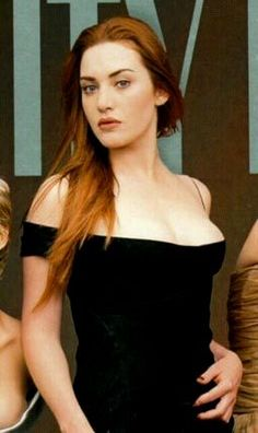 Red hair - Kate Winslet @Nicole Wolters this should have been your kate winslet hair faze color