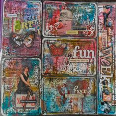 art journal/project life log: Project Life – Week 8