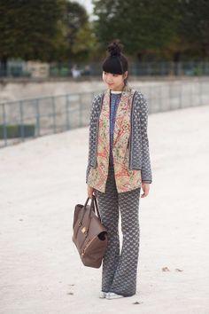Vanessa Jackman: Paris Fashion Week SS 2012....Susie Bubble